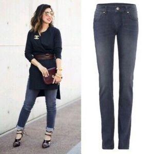 Cabi 3191 slim boyfriend gray jeans